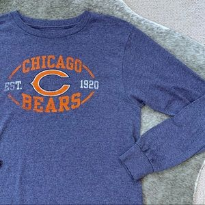 Majestic Chicago Bears LS Shirt